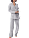 Luxury Jersey Kate PJ in Grey Marl
