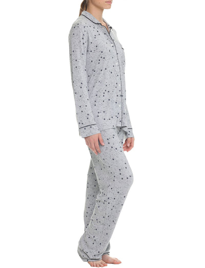 Modal Soft Kate PJ in Grey Stars