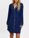 Modal Kate Nightshirt, Navy