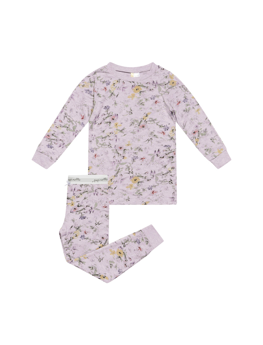 Girls Emmy Lilac Modal PJ Set