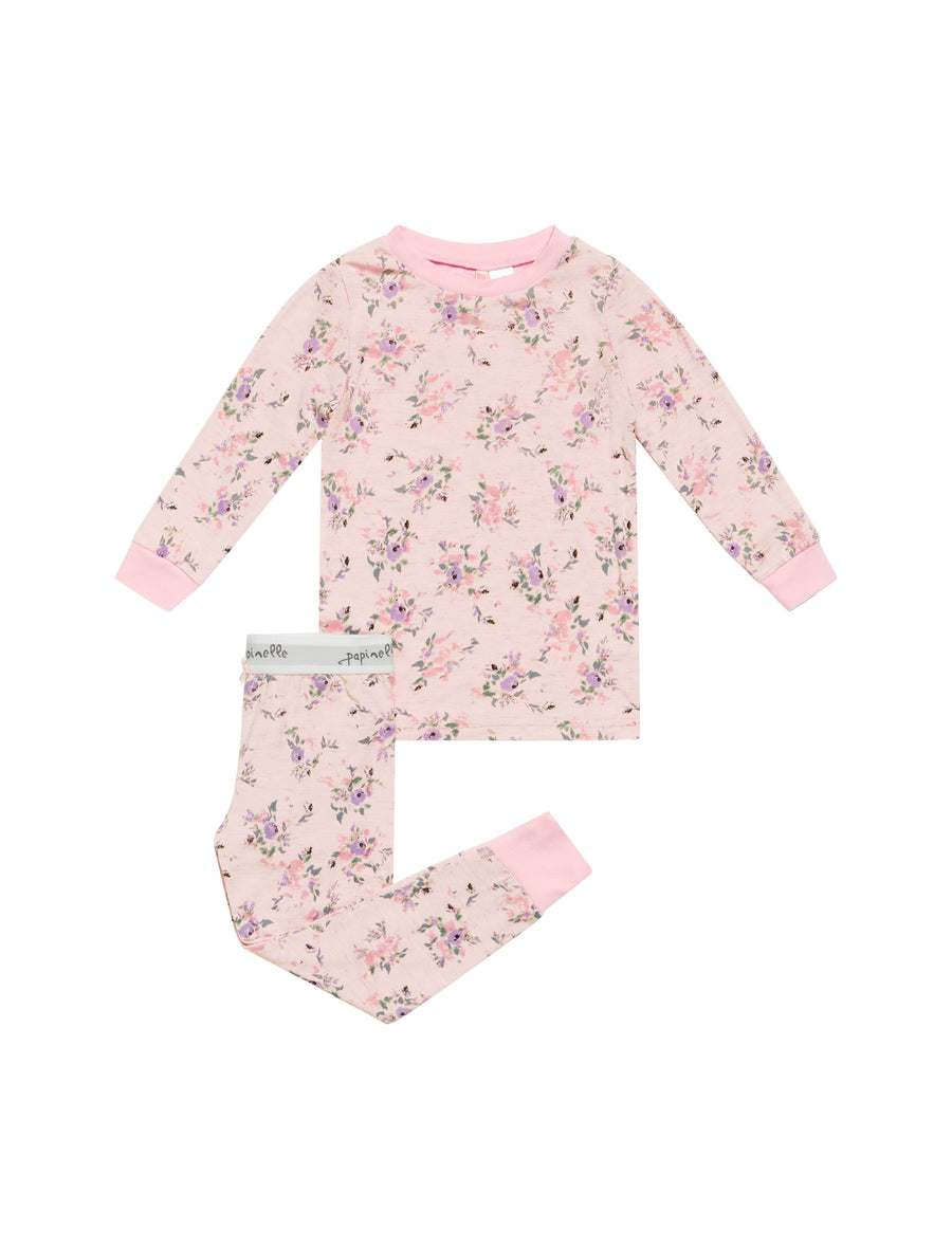 Girls Iggy Pink Modal PJ Set