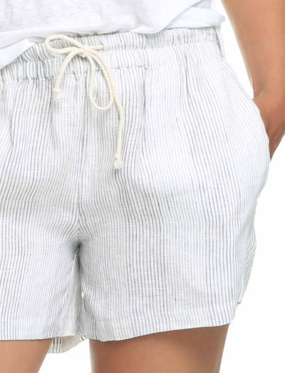 Resort Linen Boxer in Stripe