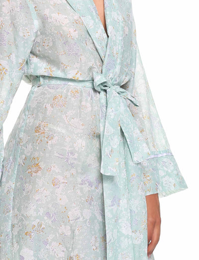Louis Mint Maxi Robe