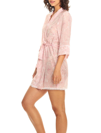 Louis Pink Short Robe