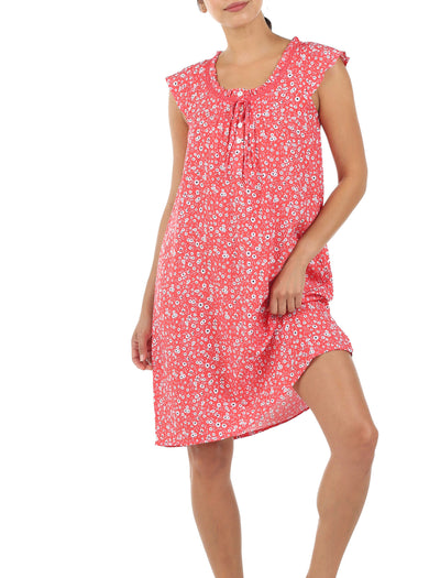 Mathilda Grapefruit Flutter Nightie