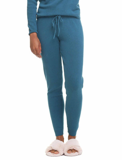 Pointelle Pants, Midnight Blue/Deep Ocean