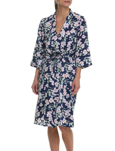 Poppies Mid-Length Robe