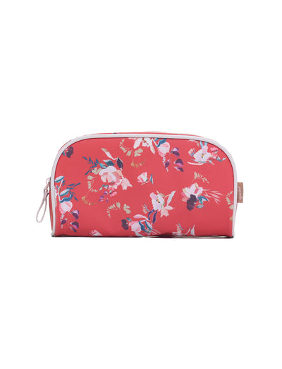 Ruby Jean Red Small Cosmetic Bag