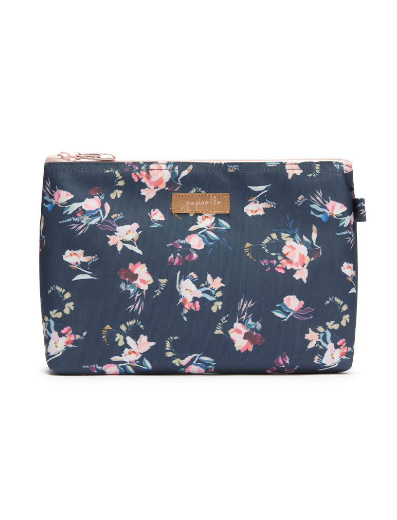 Ruby Jean Navy Medium Cosmetic Bag