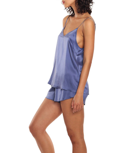 Washable Silk sleepwear Set Side