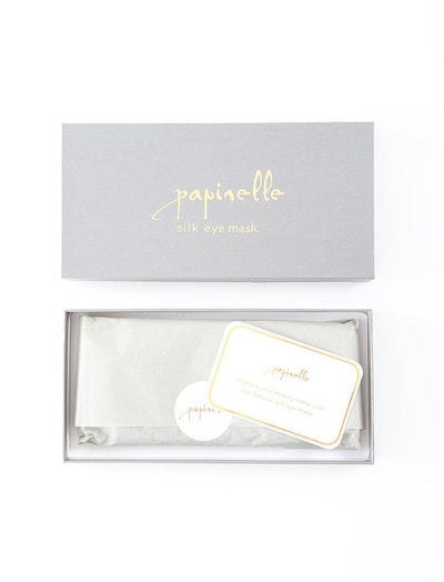 The perfect silk eye mask boxed