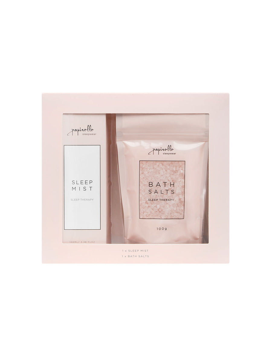 Sleep Therapy Sleep Mist & Bath Salts Set