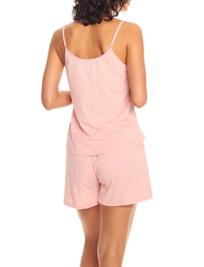 Organic Knit Cami in Peony Pink