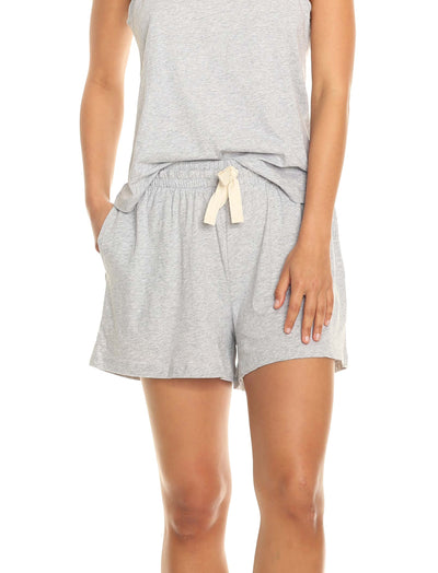 Organic Cotton Boxer Shorts Grey