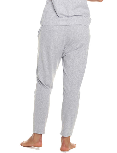 Organic Cotton PJ Pants Grey Back