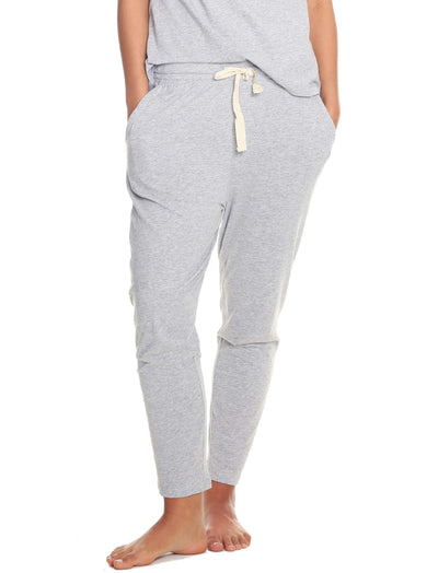 Organic Cotton loung pants Grey