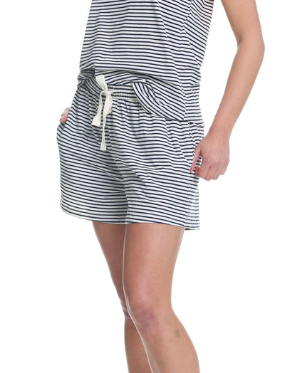 Organic Cotton Stripe Boxer Short