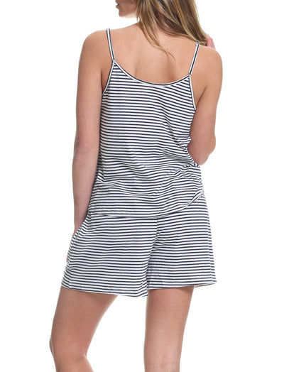 Organic Cotton Stripe Cami Back
