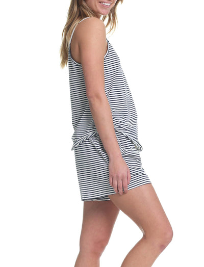 Organic Cotton Camisole Side Stripe