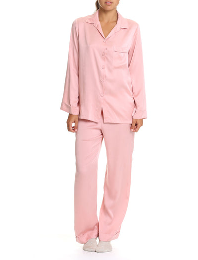 Pure Silk PJ in Vintage Pink