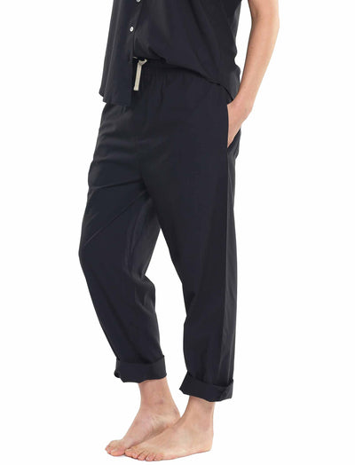 Whale Beach Long Pant in Black