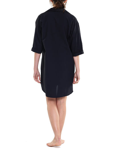 Whale Beach Nightshirt Black Back