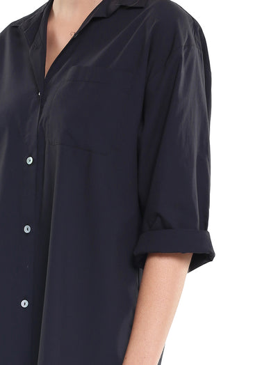 Whale Beach Nightshirt Black Close