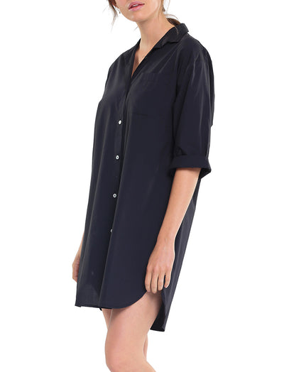 Whale Beach Nightshirt Black Side