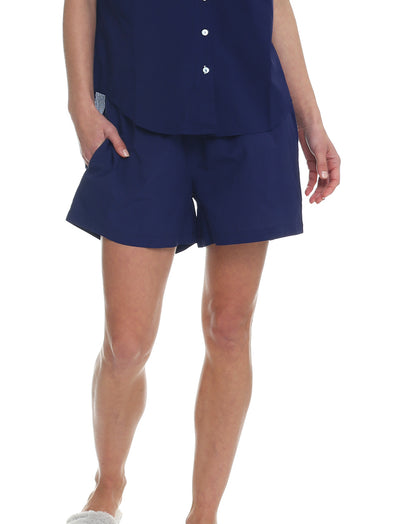 Whale Beach Long Boxer, Navy