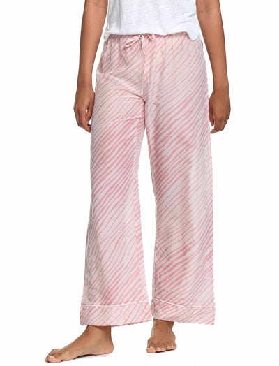 Zebra Pink Full Length Pant