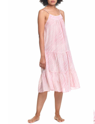 Zebra Pink Tiered Nightie