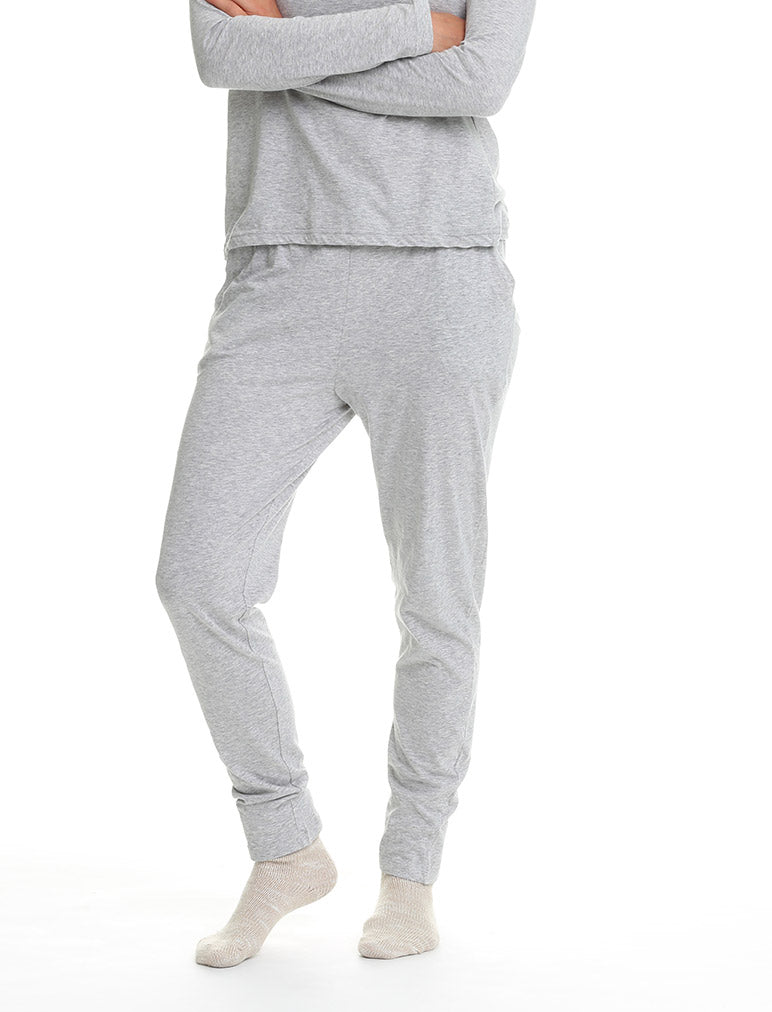 Classic Knit Pant Grey
