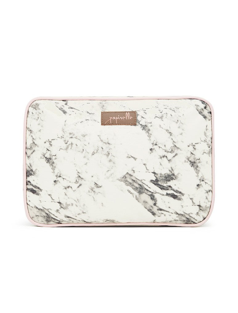 Marble Cosmetic Bag - Large Fold Out