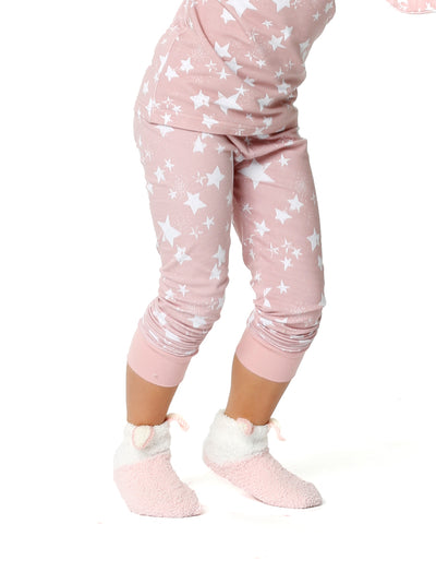 Girls Fluffy Bed Socks
