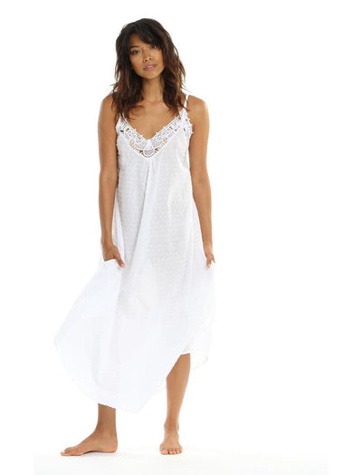Swiss Dot Maxi Nightie