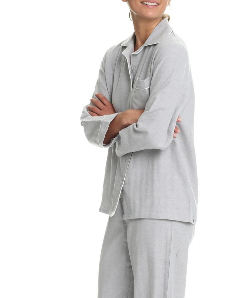 Herringbone Grey PJ set