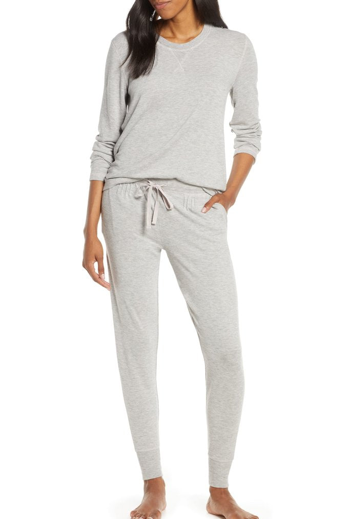 Feather Soft Jogger Pant in Grey