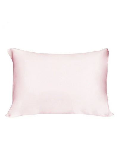 Boxed Silk Pillow Slip in Pink