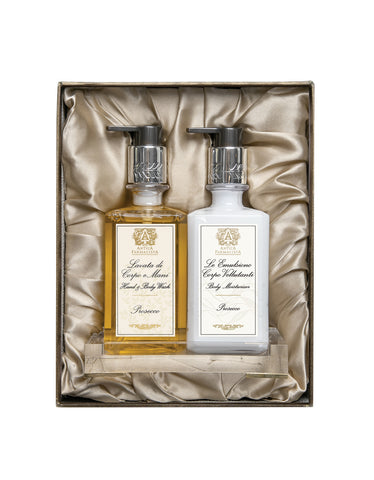 Acrylic Bath & and Body Gift Set: Prosecco