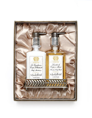 Nickel Bath & and Body Gift Set: Beverly Hills Hotel