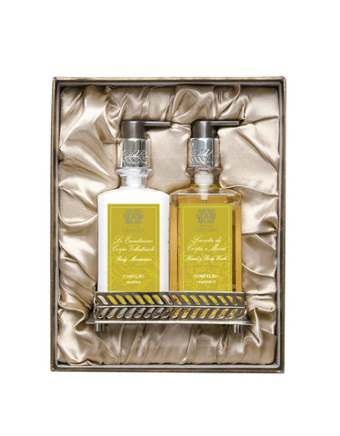 Nickel Bath & and Body Gift Set: Grapefruit