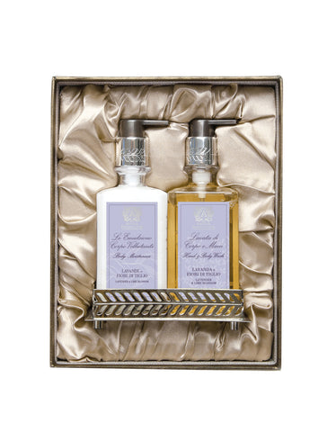 Nickel Bath & and Body Gift Set: Lavender & and Lime Blossom