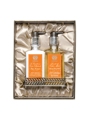 Nickel Bath & and Body Gift Set: Orange Blossom, Lilac & and Jasmine