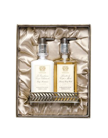 Nickel Bath & and Body Gift Set: Damascena Rose, Orris & and Oud