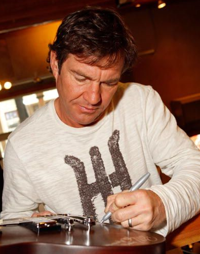 Left Handed Celebrities | Dennis Quaid