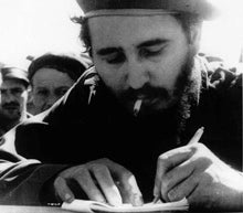 Left Handed Celebrities | Fidel Castro