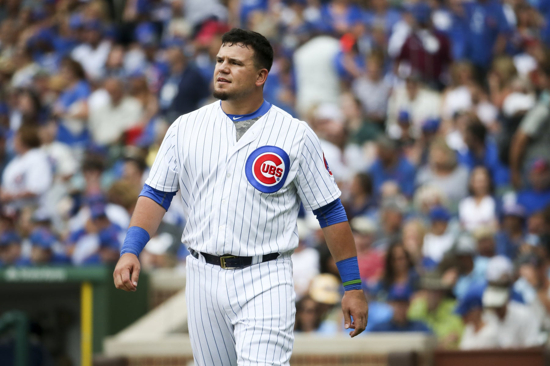 Cubs' Kyle Schwarber: Out against left-hander
