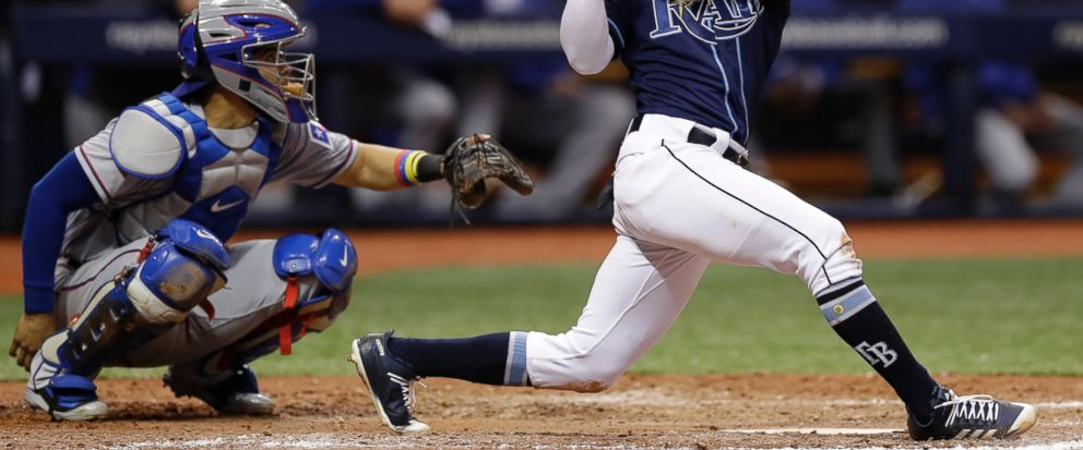 Rays beat Rangers 8-4 to end 4-game losing streak