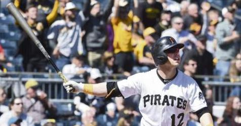 Pirates lefty hitter Corey Dickerson crushing lefthanded pitchers