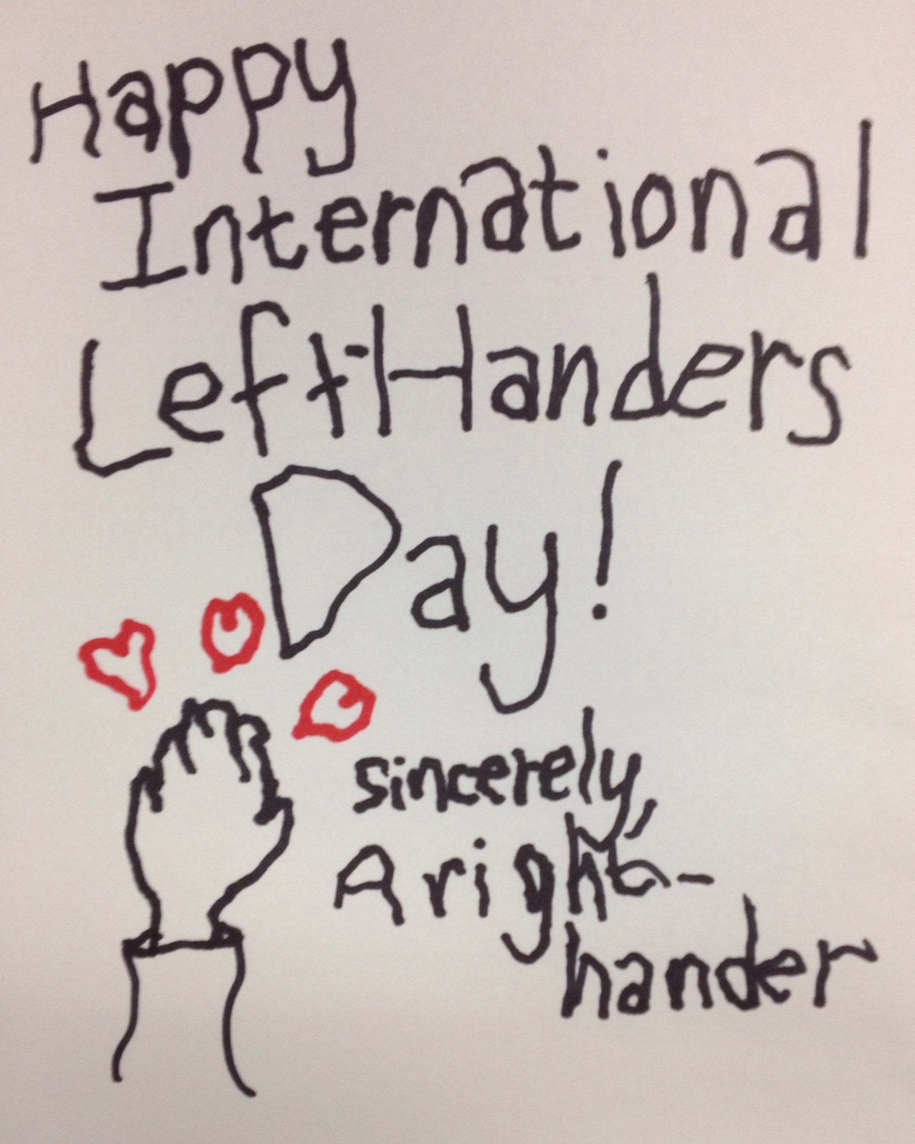 International Left Handers Day